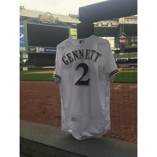 2016 Scooter Gennett Signed Jersey