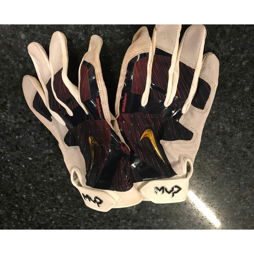2017 Team-Issued Batting Gloves - Joe Mauer