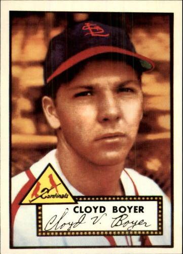 Photo of 1983 Topps 1952 Reprint #280 Cloyd Boyer