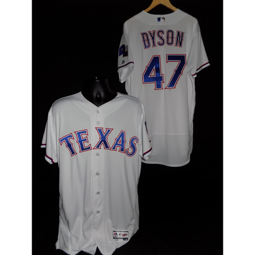 Photo of Sam Dyson Team-Issued Home Jersey - Size 48