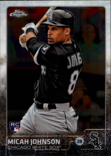 Photo of 2015 Topps Chrome #153 Micah Johnson RC