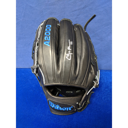 Photo of Kershaw's Challenge: Clayton Kershaw Autographed Game Model Wilson Glove - Not MLB Authenticated