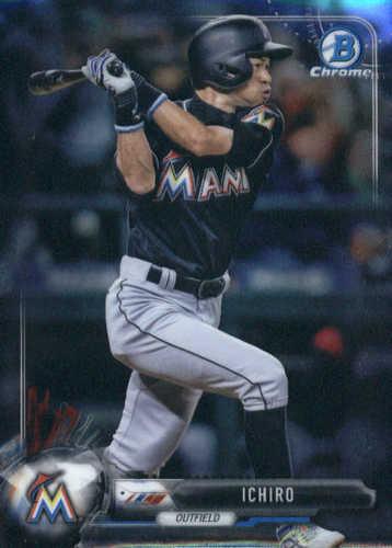 Photo of 2017 Bowman Chrome #8 Ichiro