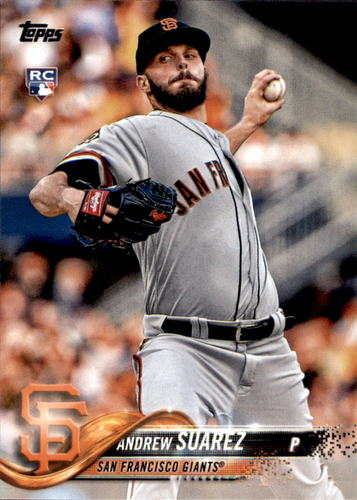 Photo of 2018 Topps Update #US261 Andrew Suarez RC
