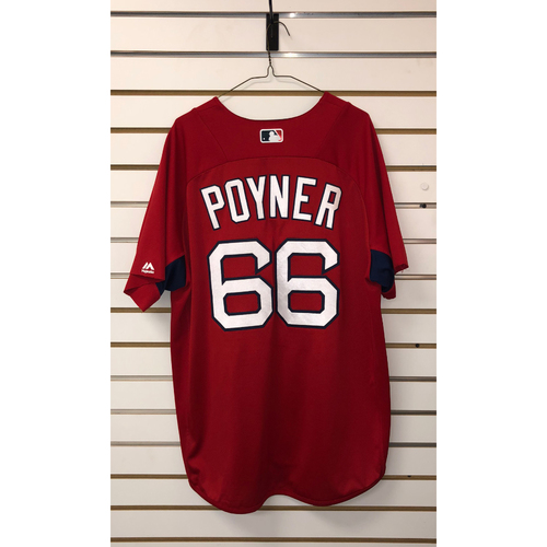 Photo of Bobby Poyner Team-Issued Home Batting Practice Jersey
