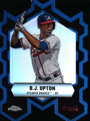 Photo of 2013 Topps Chrome Chrome Connections Die Cuts #CCBU B.J. Upton