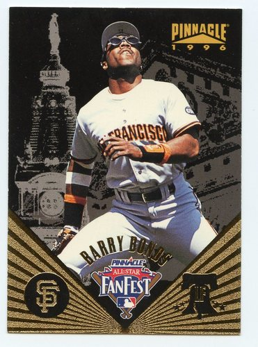 Photo of 1996 Pinnacle FanFest #16 Barry Bonds