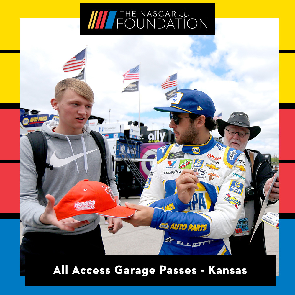 All Access Garage Passes at Kansas benefitting The Paralyzed Veterans of America!