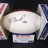 NFL - Browns Denzel Ward Signed Panel Ball