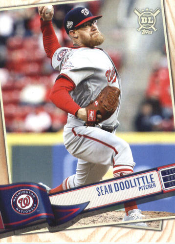 Photo of 2019 Topps Big League #277 Sean Doolittle