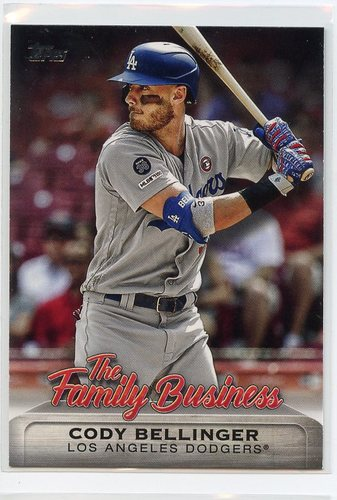 Photo of 2019 Topps Update The Family Business #FB22 Cody Bellinger