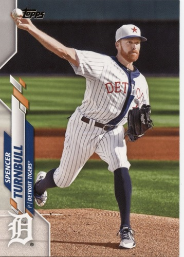 Photo of 2020 Topps #445 Spencer Turnbull