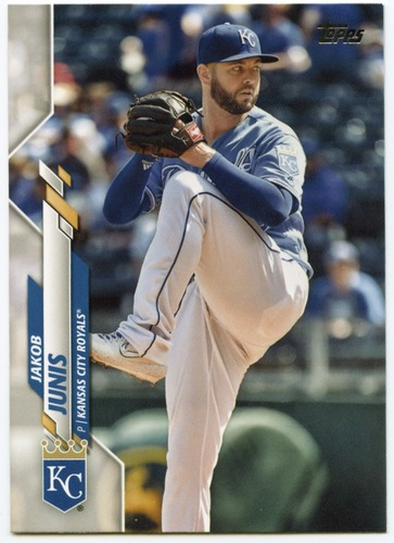 Photo of 2020 Topps #683 Jakob Junis