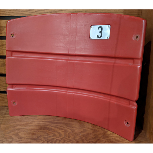 Photo of Fenway Park Section 17 Red Seatback #3