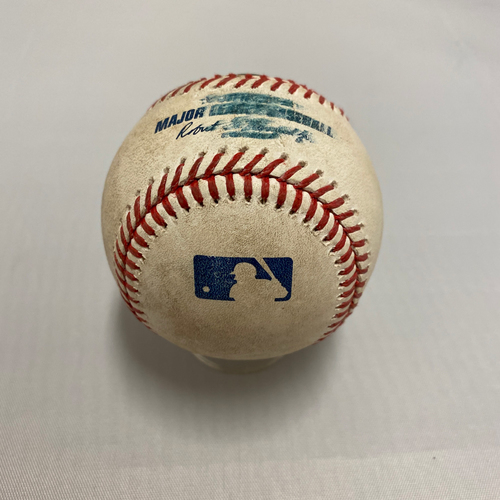 Photo of 2020 Silver Slugger - Manny Machado 2020 Game Used Baseball used on 7/30 - T-4: Single to Pitcher off of Kevin Gausman