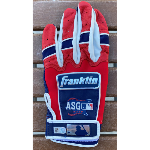 Ronald Acuna Jr 2019 All Star Game Autographed Batting Glove
