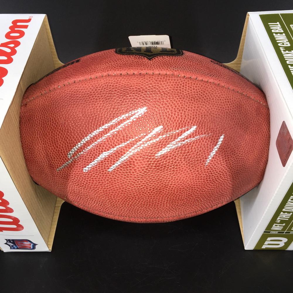NFL -Seahawks Jamal Adams Signed Authentic Football
