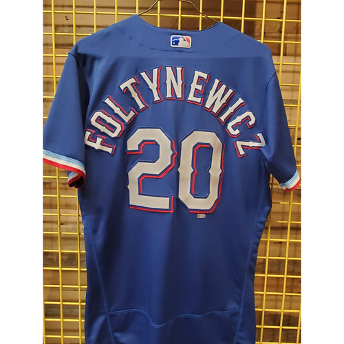 Photo of Mike Foltynewicz Team-Issued Spring Training Jersey