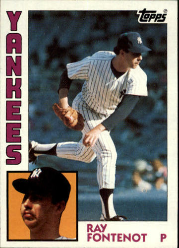 Photo of 1984 Topps #19 Ray Fontenot