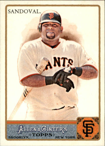 Photo of 2011 Topps Allen and Ginter #111 Pablo Sandoval