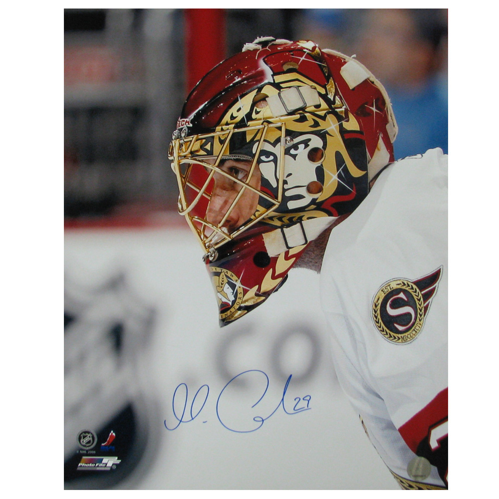 MARTIN GERBER Signed Ottawa Senators 16 X 20 Photo - 79004