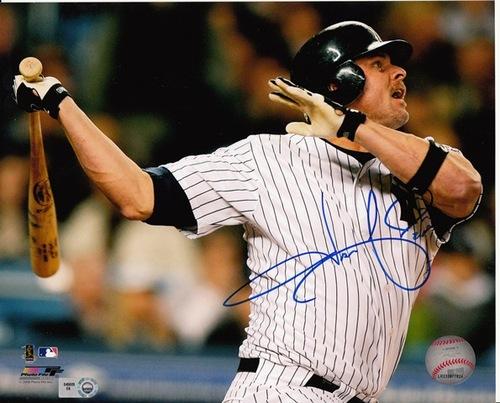 Jason Giambi Autographed 8x10