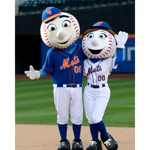 Photo of Amazin' Auction: Mr. AND Mrs. Met at Your Event