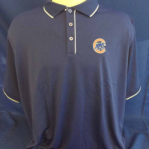 Photo of UMPS CARE AUCTION: Chicago Cubs Antigua Polo, Size XX-Large