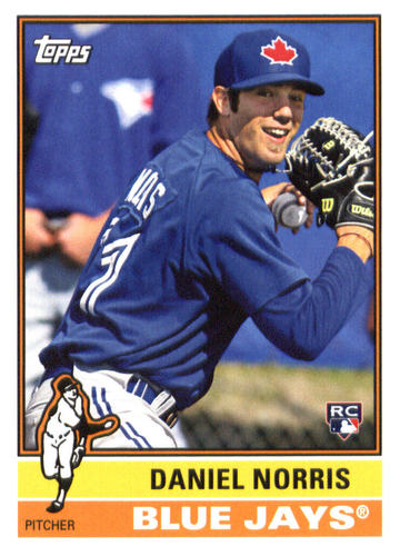 Photo of 2015 Topps Archives #190 Daniel Norris RC