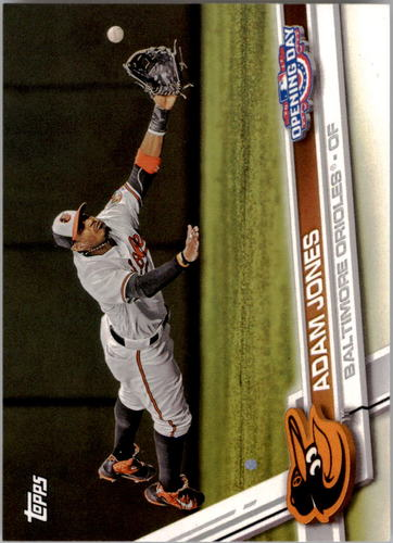 Photo of 2017 Topps Opening Day #18A Adam Jones