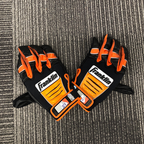 Photo of 2018 Team Issued Batting Gloves - #57 Dereck Rodriguez