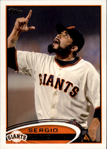 Photo of 2012 Topps #379 Sergio Romo RC