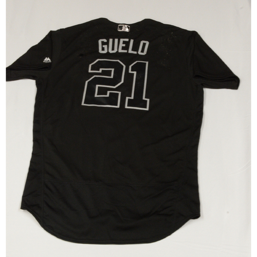 "Photo of Welington ""GUELO"" Castillo Chicago White Sox Game-Used 2019 Players' Weekend Jersey"
