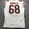 London Games - Bears James Daniels Game Used Jersey with 100th AnniversaryPatch (10/6/19) Size 46