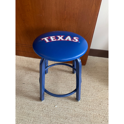 Photo of Clubhouse Attendant Stool From Texas Rangers Home Clubhouse at Globe Life Park
