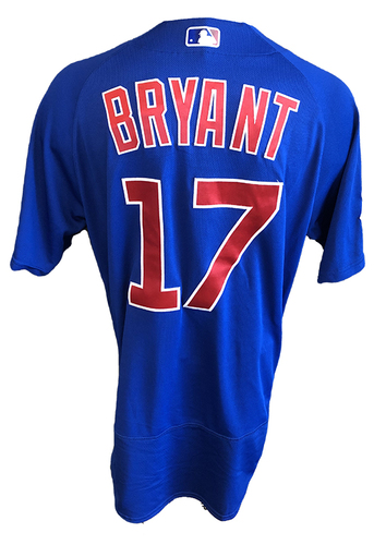 Photo of Kris Bryant Team-Issued Jersey -- 2020 Season -- Size 46T + 0.5S
