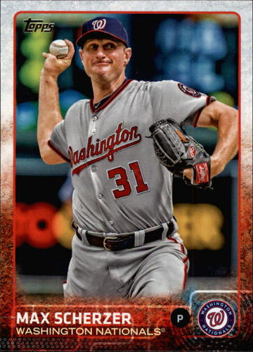 Photo of 2015 Topps #586 Max Scherzer