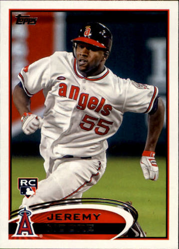 Photo of 2012 Topps #277 Jeremy Moore RC