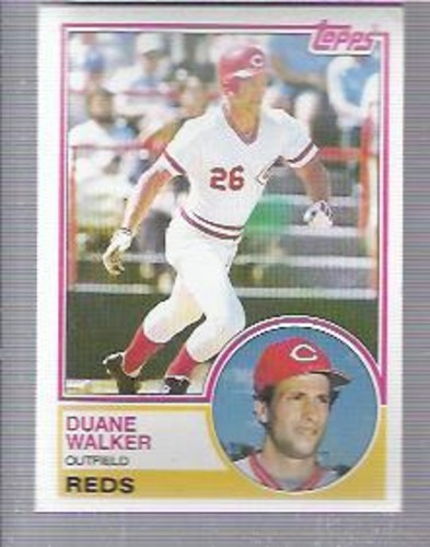 Photo of 1983 Topps #243 Duane Walker