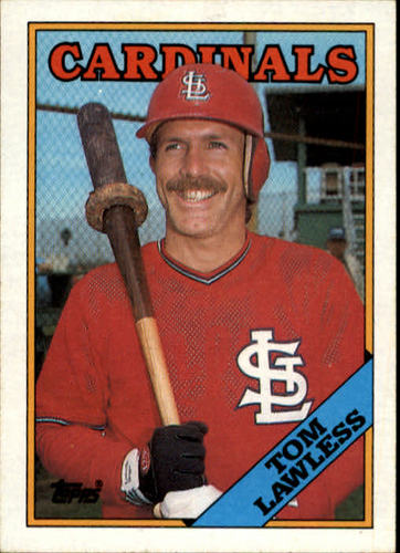 Photo of 1988 Topps #183 Tom Lawless