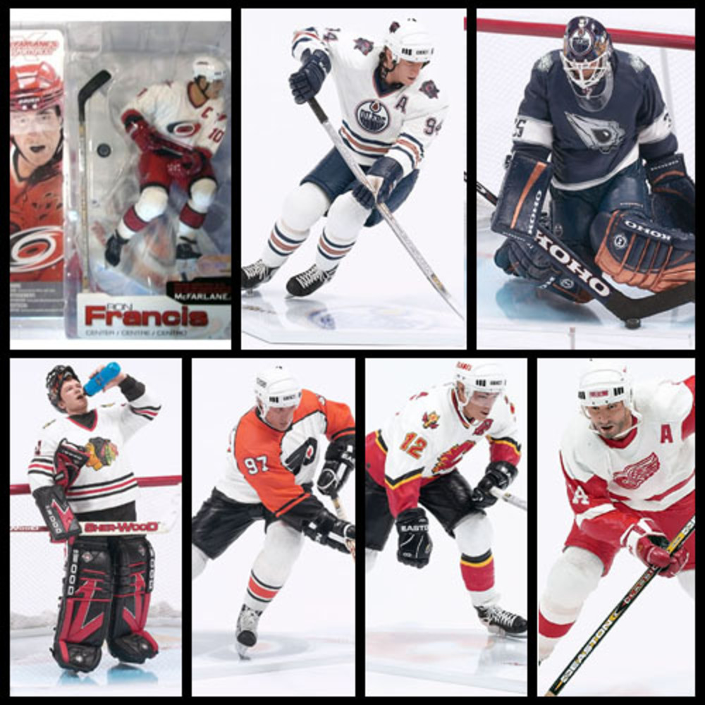 Partial McFarlane NHL Series 4 Set - Including Ron Francis Chase Variant