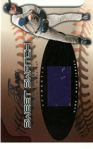 Photo of 2002 Flair Sweet Swatch #20 Larry Walker/430