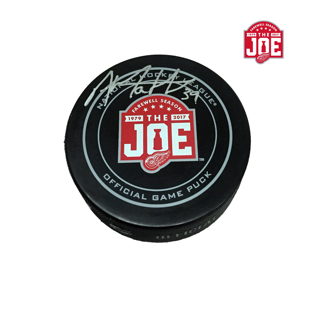 ANTHONY MANTHA Signed Detroit Red Wings