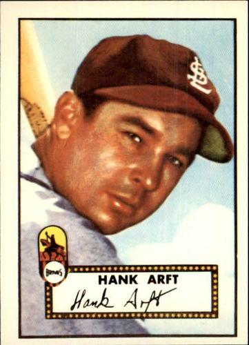 Photo of 1983 Topps 1952 Reprint #284 Hank Arft