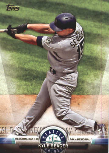 Photo of 2018 Topps Salute #TS50 Kyle Seager