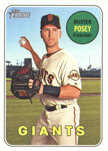 Photo of 2018 Topps Heritage #293 Buster Posey