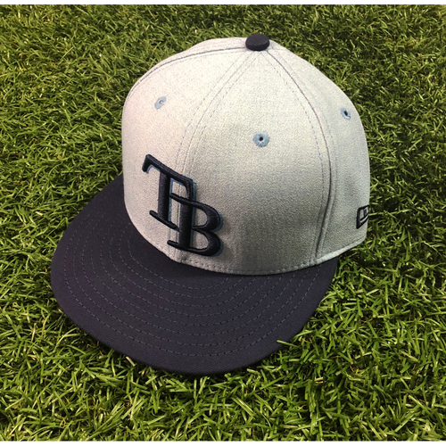 2018 Father's Day Game Used Hat: Ryan Yarbrough - June 17, 2018 at NYY