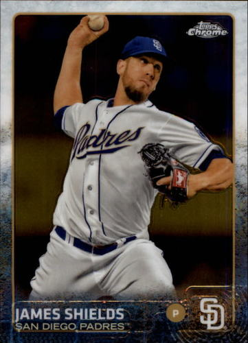 Photo of 2015 Topps Chrome #155 James Shields