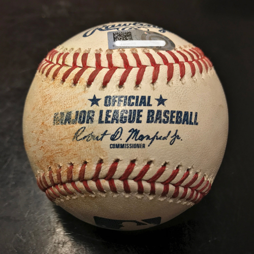 Photo of Game-Used Baseball: Chris Devenski to Shohei Ohtani (Single) on 8/30/18