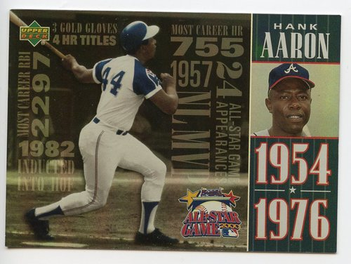 Photo of 2000 FanFest Aaron #3 Hank Aaron/Upper Deck